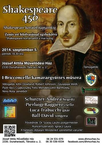 plakát koncert 2014.09.05.