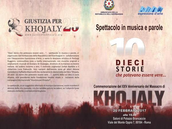 25 anni da Khojaly – Dieci storie che potevano essere vere
