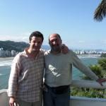 with Luis Gustavo Petri – Santos (Brazil)