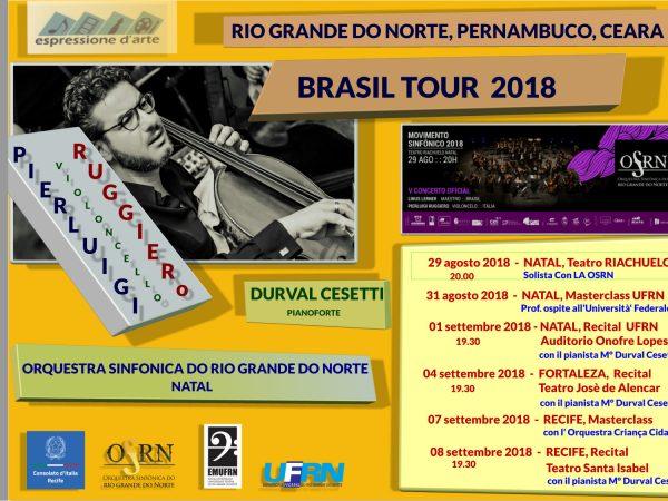 Brasilian Tour 2018 – Rio Grande do Norte, Pernambuco, Ceara